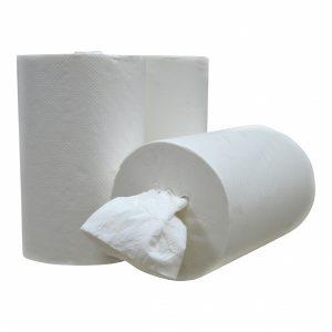 Handdoekrollen mini - 12 rollen in verpakking