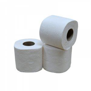 Toiletpapier 2-laags cellulose - 40 rollen in verpakking