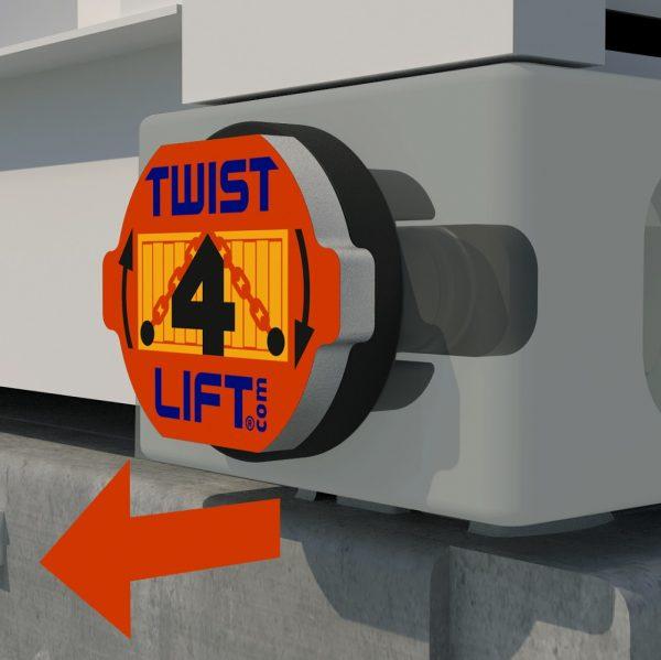 Twist4Lift innovatieve containerhaak - stap 3