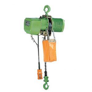 Umega elektrische takel UH100 en UHD100 serie 0.5 en 1 ton groot
